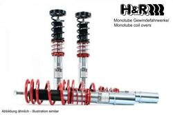 Handr Mono-tube Coilover 30-50 Mm For Ford Mustang Convertible Since 2018