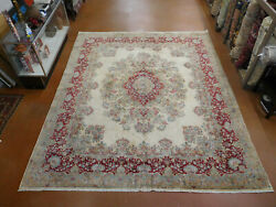 Antique Kirmann Rug Estate Wonderful Carpet 10and0396and039and039x12and0392and039and039 Circa 1950s