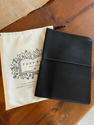 FOXY FIX SPICE BLACK PERFECT FIT COVER A5 NOTEBOOK COVER HOBONICHI COUSIN COVER $69.99