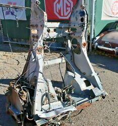 1973 Citroen Sm Rustfree Straight Clean Front Clip -lower Firewall Forward-oy