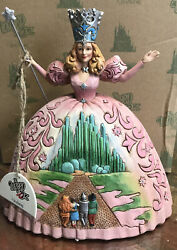 Jim Shore Wizard Of Oz Glinda The Good Witch Thereand039s No Place Like Home New