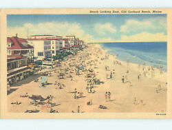 Linen SHOPS ON BEACH Old Orchard Beach Maine ME M7876 C $2.60