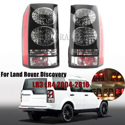 Pair Rear Tail Light Lamp For Land Rover Discovery Lr3 Lr4 2004-13 14 2015 2016