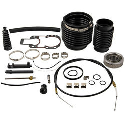 Transom Seal Kit Fit Mercruiser Alpha 1 One Gen 2 Two Shift Cable Exhaust Bellow