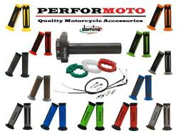 Domino Xm2 Quick Action Throttle Kit With A350 Grips To Fit Sherco Bikes