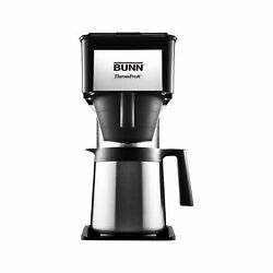 Bunn Bt Velocity Brew 10-cup Thermal Carafe Home Coffee Brewer, Black 1-pack