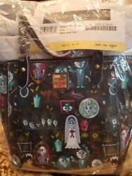 Dooney And Bourke Disneyland Haunted Mansion Janie Tote Nwt Never Out Of Packaging