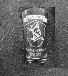 Adventure Zone Graduation Taz Clyde Nite's Night Knight School Etched Pint Glass