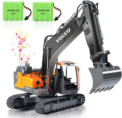Volvo Rc Excavator Construction Truck 17 Channel 1/16 Scale Rc Truck Digger