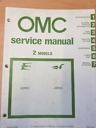 1981 Johnson Evinrude Outboard 2 Models Service Repair Manual Instruct Book