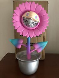 Ron English X Made By Monsters X Dopeness Art Telegrinnies Sunflower Grin Signed