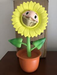 New Ron English X Made By Monsters X Dopeness Art Telegrinnies Sunflower Grin