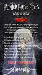 Haunted House Haunt Rules 1 Video Effect Unit Halloween Prop On Sale Limited