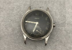 Alpina 592 Rare 1940 Ww2 German Military Air Force Issue Vintage Watch For Parts