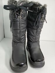 Totes winter boots womans black waterproof snowboots Mid Calf 3M $30.00