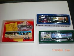 Lot 3 Vintage York Fair Tractor Trailers From 1997 2002 2003 All New In Box