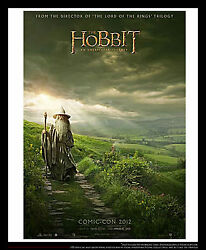 The Hobbit Unexpected Journey 4x6 French Grande Rolled Poster Original 2012