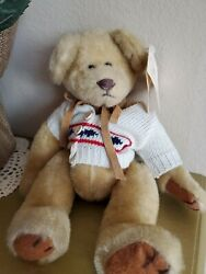 Russ Berrie 'blair' Nwt - Bears From The Past Collectible Teddy Bear 11