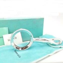 And Co. Magnifying Glass Sterling Silver W/box Dust Bag Vintage Excellent