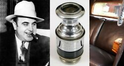 Gangster Al Capone's Personal 1930 Armored Cadillac Cigarette Lighter Scarface