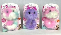 Pomsies Interactive Plush Toys - Pinky Patches And Speckles - Lot Of 3 - New