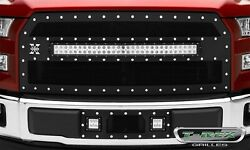 T-rex Grilles 6315731 Torch Series Led Light Grille Fits 15-17 F-150