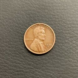 1936-s Lincoln Wheat 1 Cent Penny Nice Coin Free Shipping