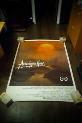 Apocalypse Now 4x6 Ft French Grande Rolled Vintage Movie Poster Original 1979