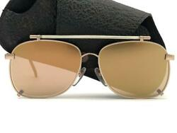 New Vintage Issey Miyake Im105 Matte Silver Sunglasses 1985 Made In Japan