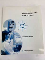 Agilent Chemstation For Lc And Ce Systems Installation Manual G2170-90027