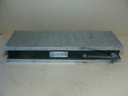 Brown And Sharpe No. 824 Magnetic Chuck 24 X 8 Table Permanent Magnet Type