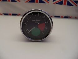 R18 - Genuine Smiths Large Green Spot Rev Counter/tacho Tachometer - Recondition