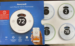 Mint Honeywell Lyric Round Smart Thermostat Wifi Everything Included In Box