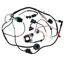 50cc-110cc Cdi Wire Harness Stator Assembly Wiring Kit Chinese Atv Electric Quad