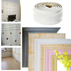 7.5ft 3D Wall Paper Borders Waterproof Self adhesive Wall Sticker Home Decor USA