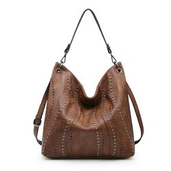 Women Faux Leather Hobo Bags Handbags Large Shoulder Purse $39.99