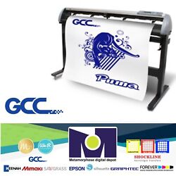 Gcc Iv P4-132 Vinyl Cutter For Sign And Htv 52 132 Cms Free Shipping