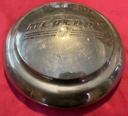 Rare Vintage 1941 Mercury Dog Dish Hubcap Wheel Cover Oem 8 Poverty Cap