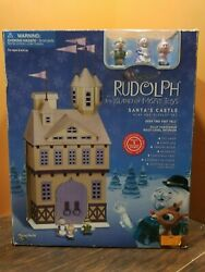 New Santa Castle Work Shop House Rudolph Island Of Misfit Toy Playing Mantis Set
