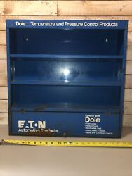 Vintage Auto Parts Display Rack Eaton Dole Amd American Chicago Pickers Gas Oil