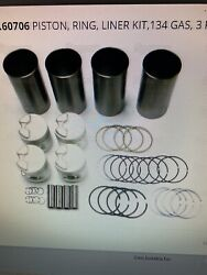 Pistons,liners Rings Ford Jubilee, Naa 4 Cylinder 134 Gas Engine Tractor