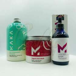 Maka - 3-step Set That Stimulates Growth And Protects Hair