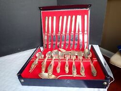 Holmes And Tuttle International Silver 1938 Service For 10 With Hostess Pieces