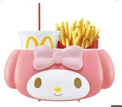 My Melody × Mcdonald's Japan Limited Potato And Drink Holder Sanrio Car Accessory