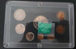South Sudan 8 Dif Proof Coins Set 1 Millim - 20 Ghirsh 1969 Year Ps-3