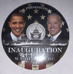 2013 Official 57 Inaguration Day Obama And Biden Inauguration Button 3