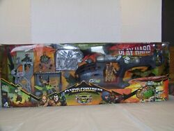 Lanard Toys The Corps Flying Fortress Battlezone Set. New Huge