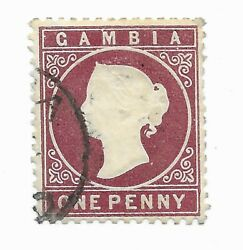 Gambia 128w Gibbons Stamp Cat Value Andpound100.00