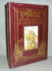 Easton Press Book The Complete Book Of Flower Fairies Cicely Barker New Sealed