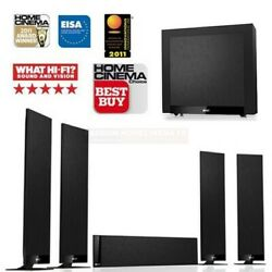 Kef T305 5.1 Home Theatre System - Black. New